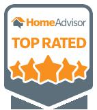 Paula's Movers Home Advisor Top Rated Moving Company Badge