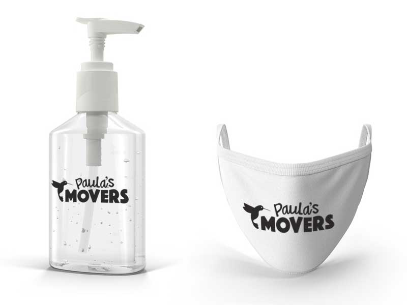 Paula's Movers PPE Equipment