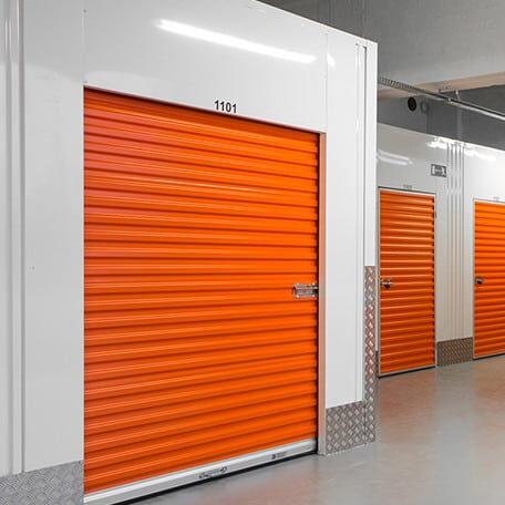 Paulas Movers Secure Storage Unit.